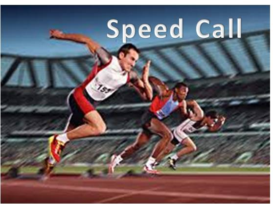 speed call 1