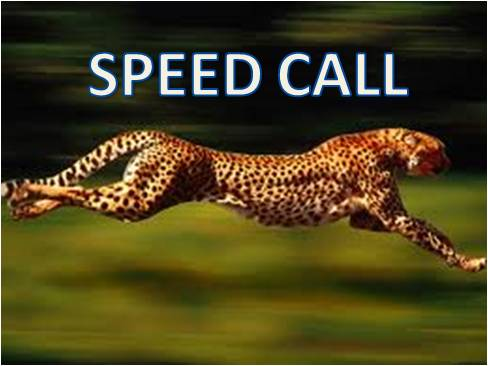 speed call