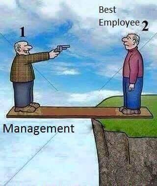 thik before your best employee
