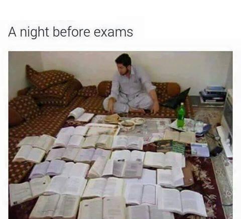 before-exam